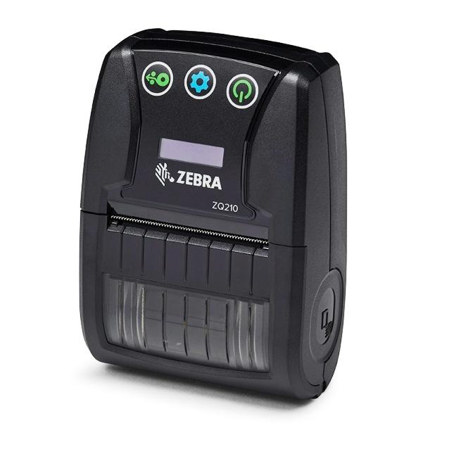 Zebra ZQ210 Mobile Label Printer, 2 Inch, 16MB, Bluetooth