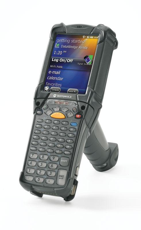 ZEBRA HANDHELD PDT MC92N0-G 43 KEYS 1D SCANNER 512MB RAM CE7